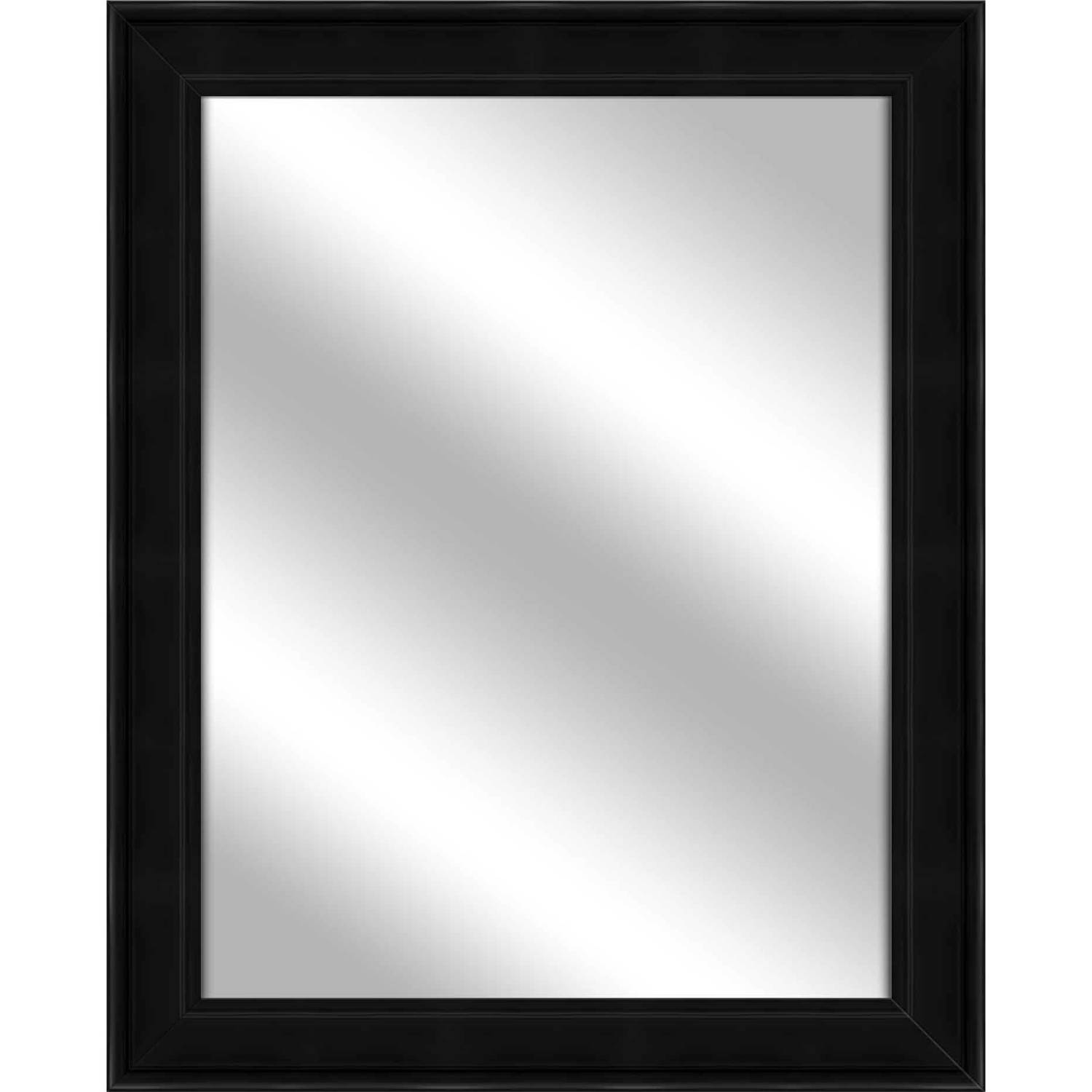 Vanity Mirror, Black, 26.75x32.75 by PTM Images