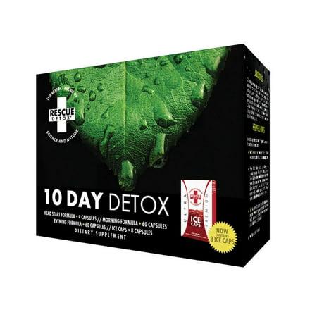 Rescue Detox - 10 Day Detox Kit (Jj Smith 10 Day Tummy Detox Plan)