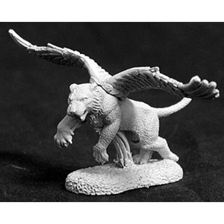 Reaper Miniatures Winged Tiger #02635 Dark Heaven Legends Unpainted Metal -