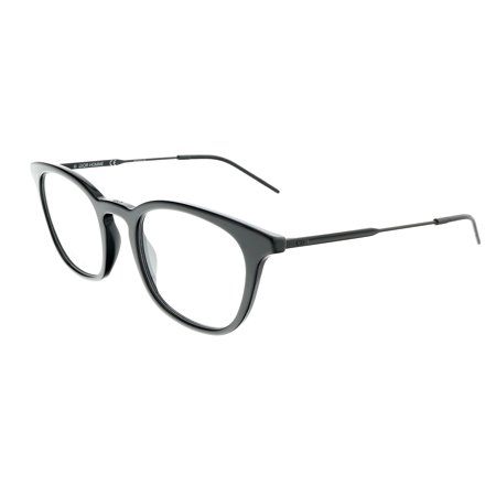 DIOR HOMME BLACKTIE231 Black Matte Square (Dior Eyeglasses Men)