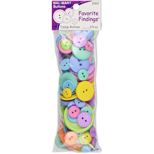 Favorite Findings Value Pack of Buttons