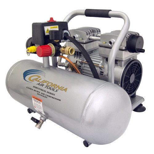 California Air Tools CAT-2010ALFC 1 HP 2 Gallon Ultra Quiet Aluminum Tank Air Compressor by California Air Tools