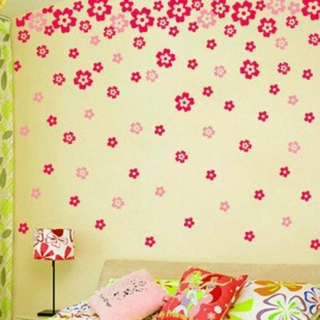 Wall Decor Removable Decal Sticker - DIY Pretty Cherry Blossom ...