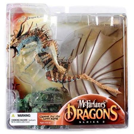 (McFarlane McFarlane's Dragons Series 3 Water Clan Dragon 3 Action Figure)