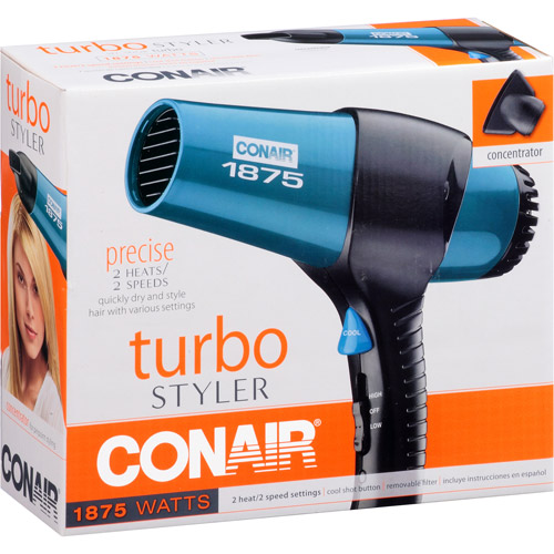 Conair Turbo Styler, Blue, Model 070B