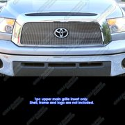 Compatible with 2007-2009 Toyota Tundra Vertical Main Upper Billet Grille Insert T65458V
