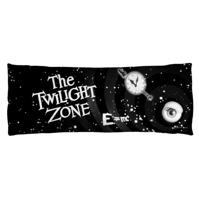 Trevco CBS1490-PLO7-18x54 Cbs Tv - Twilight Zone-Another Dimension - Microfiber Body Pillow, White - 18 x 54 in.