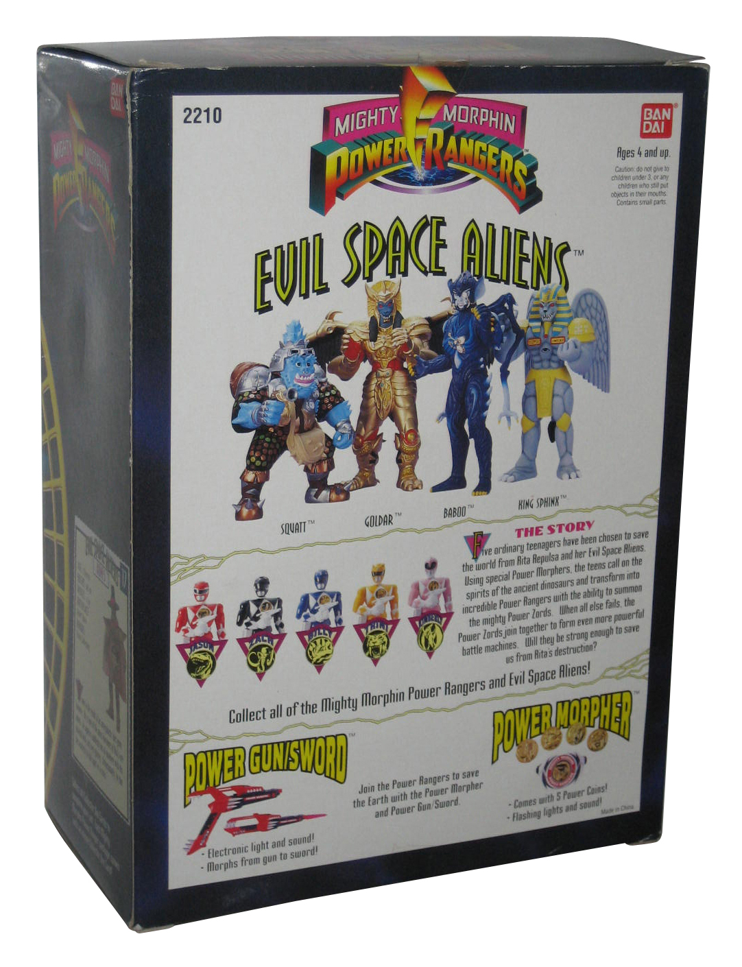 NEW IN Package Alien Power Save Our Planet Action Figure With Gun lights up