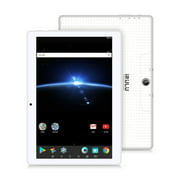 "10.1"" Tablet Google Android 7.1, IPS Display, Quad Core 1.2Ghz,1GB/16GB,Flash Play,G-Sensor,Dual Camera, Bluetooth 4.0, 1GB/16GB, WiFi,GMS Certified ,iRULU eXpro 3 Plus (X3Plus)-X30,White"