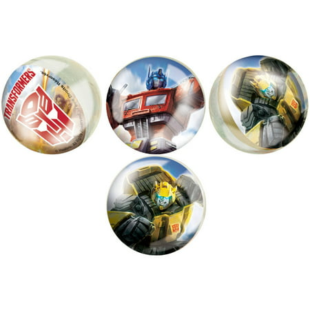Transformers Bouncy Ball Party Favors  4Ct