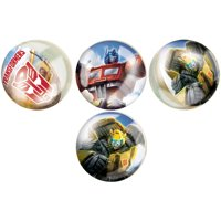 Transformers Bouncy Ball Party Favors, 4ct