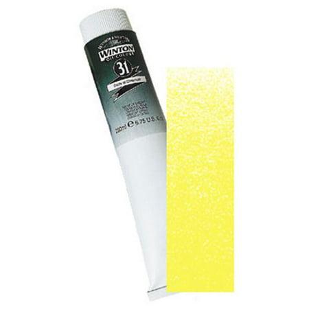 Winsor Newton Colours - Winsor & Newton Winton Oil Color - Lemon Yellow Hue - 200mL