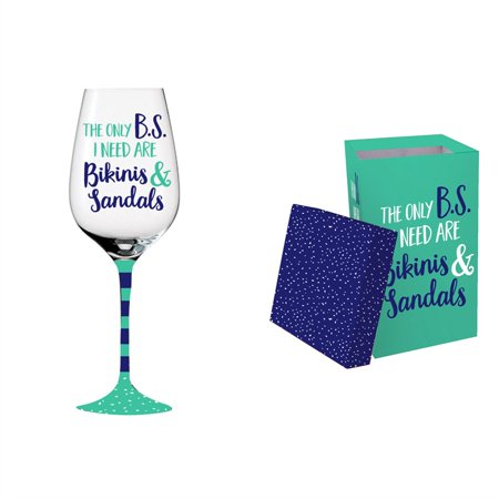 Wine Glass Boxes (Wine Glass w/ box, 12 oz., The Only BS I)