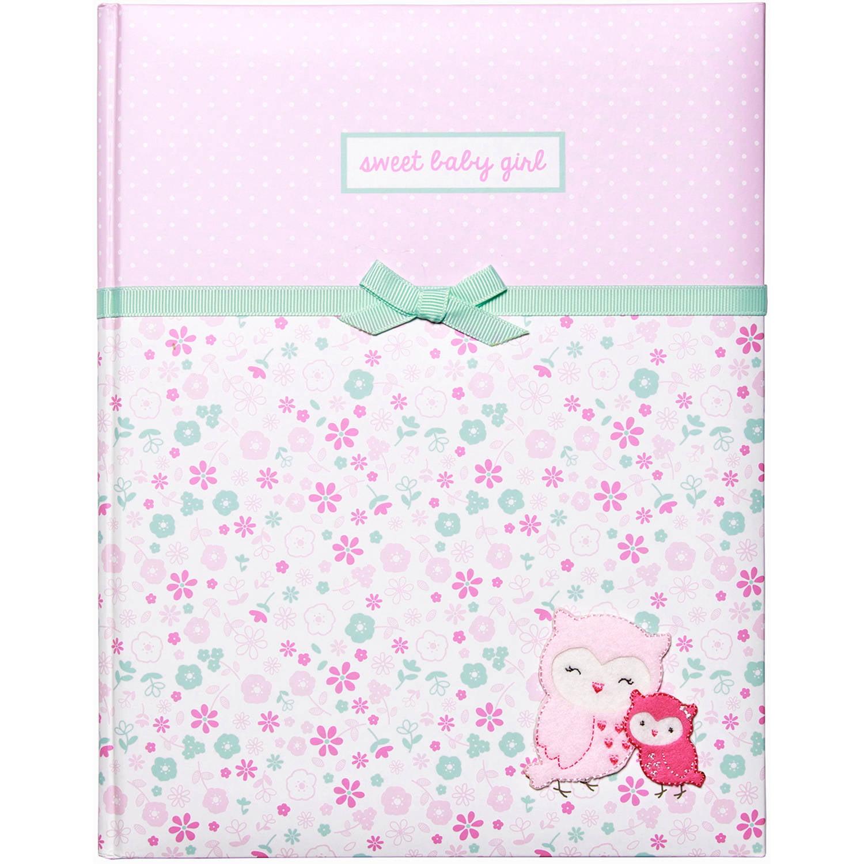 Child of Mine by Carter's Newborn Baby Girl Memory Book - Walmart.com