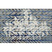 Parvez Taj White Light Art Print on White Pine Wood