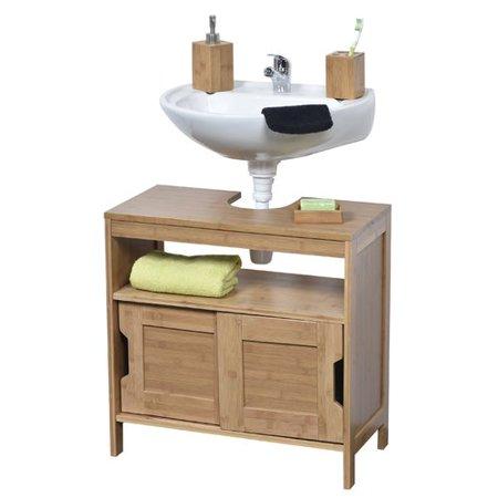 Adjustable Pedestal Vanity - Evideco Mahe Non Pedestal 23.10'' Bathroom Vanity Base Only