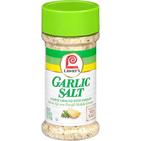Lawry's Coarse Ground With Parsley Garlic Salt, 6 oz