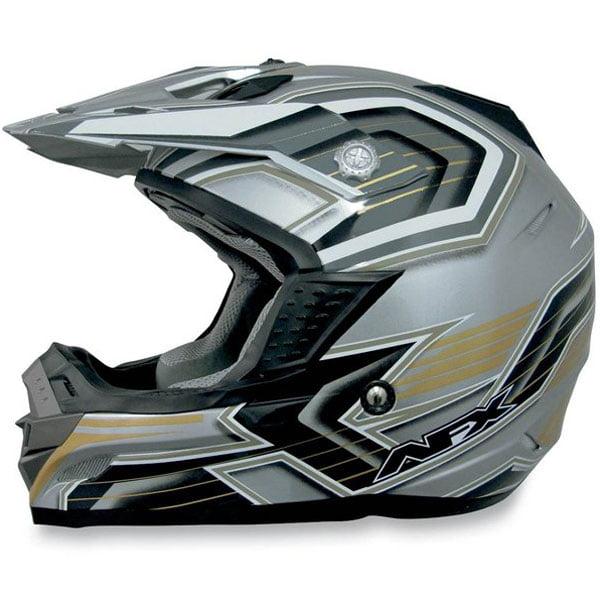 AFX FX-19 Multi MX Helmet Silver