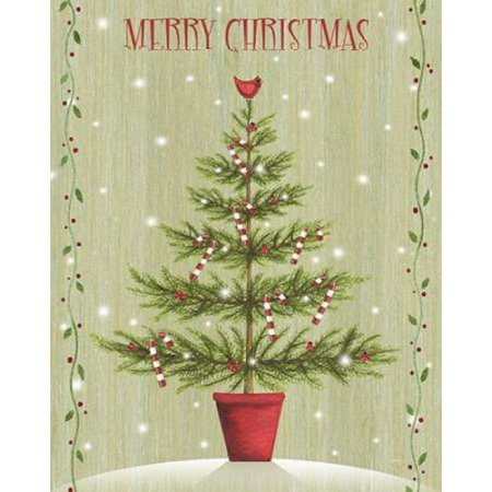 P.S. Art Studios Stretched Canvas Art - Merry Christmas - Large 24 x ...