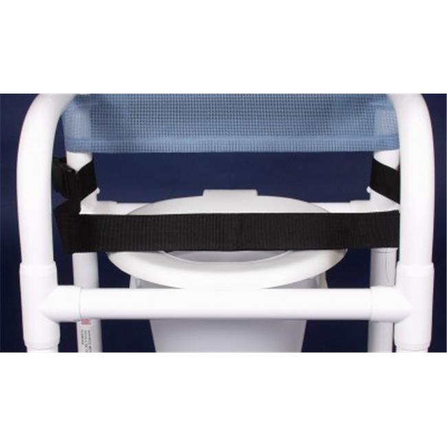 Anthros PVC Products N18-BBS-C10-3ULN 18 in. Seat Width Gated Chair with 3 in. Casters and Sling Seat