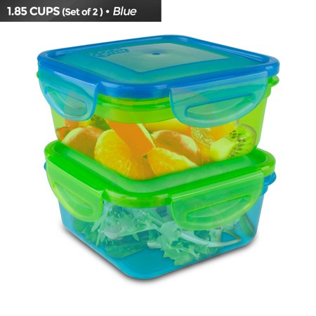 Cool Gear Air Tight Food Storage Lunch Box 1.85 CUP BPA-free 2-Pack - Cool Halloween Food Names