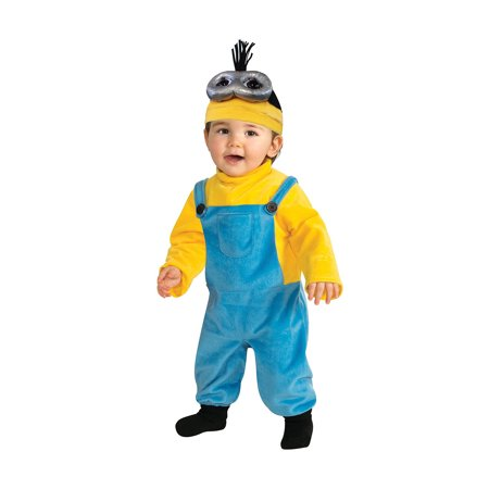 Rubie's Costume Co Baby Boys' Minion Kevin Romper Costume, Yellow, 3-4 Years - image 1 de 1