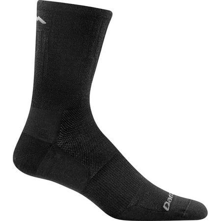 Darn Tough Coolmax 1/4 Sock - Darn Tough Vermont Breakaway Micro Crew Ultra Light Men's Sock Black XL