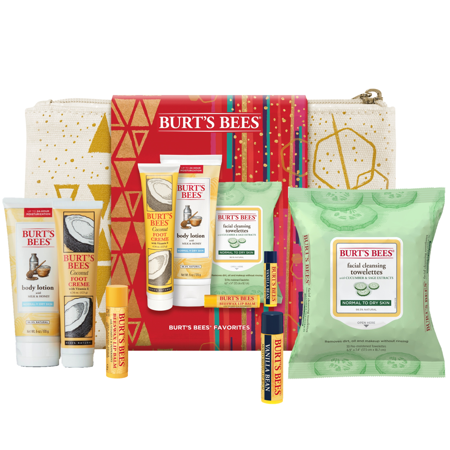 ($28 Value) Burt's Bees Skin Care Favorites Holiday Gift Set, 5 Products