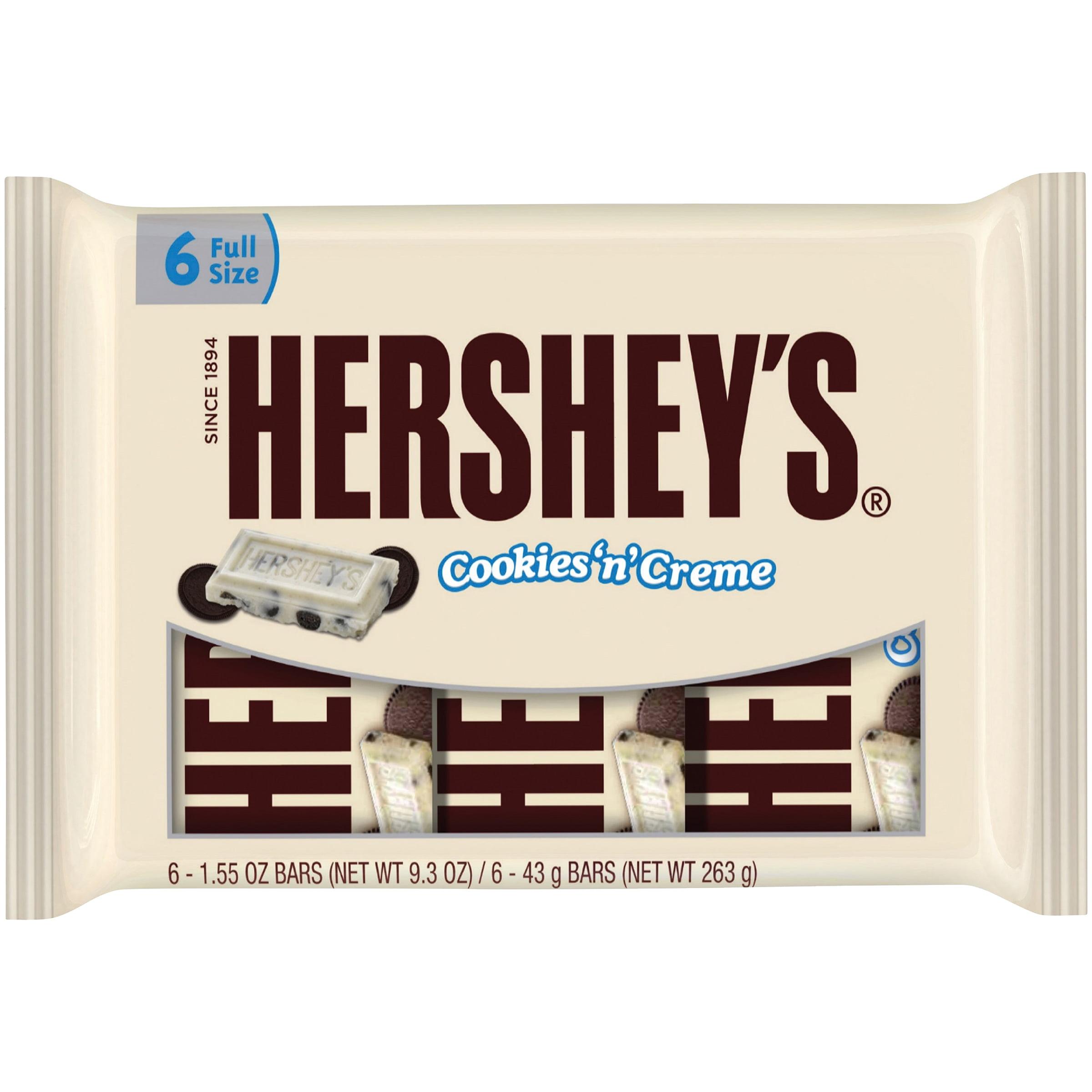 The Hershey Company Hersheyâ S � Cookies â Nâ Creme Candy Bars 6 - 1.55 Oz. Bars