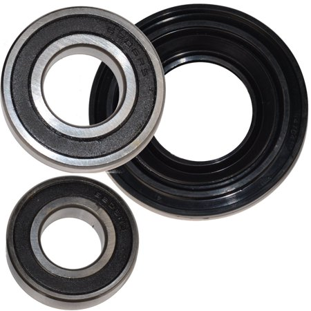 HQRP Bearing and Seal Kit for Kenmore 8540446 11046462501 11046472500 11046472501 Front Load Washer Tub + HQRP