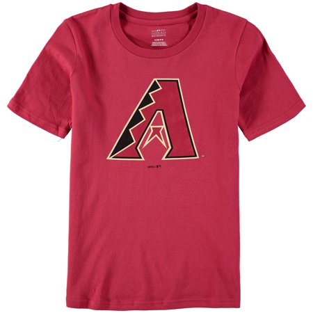 Arizona Diamondbacks Youth Primary Logo T-Shirt - Red - University Of Arizona Logo