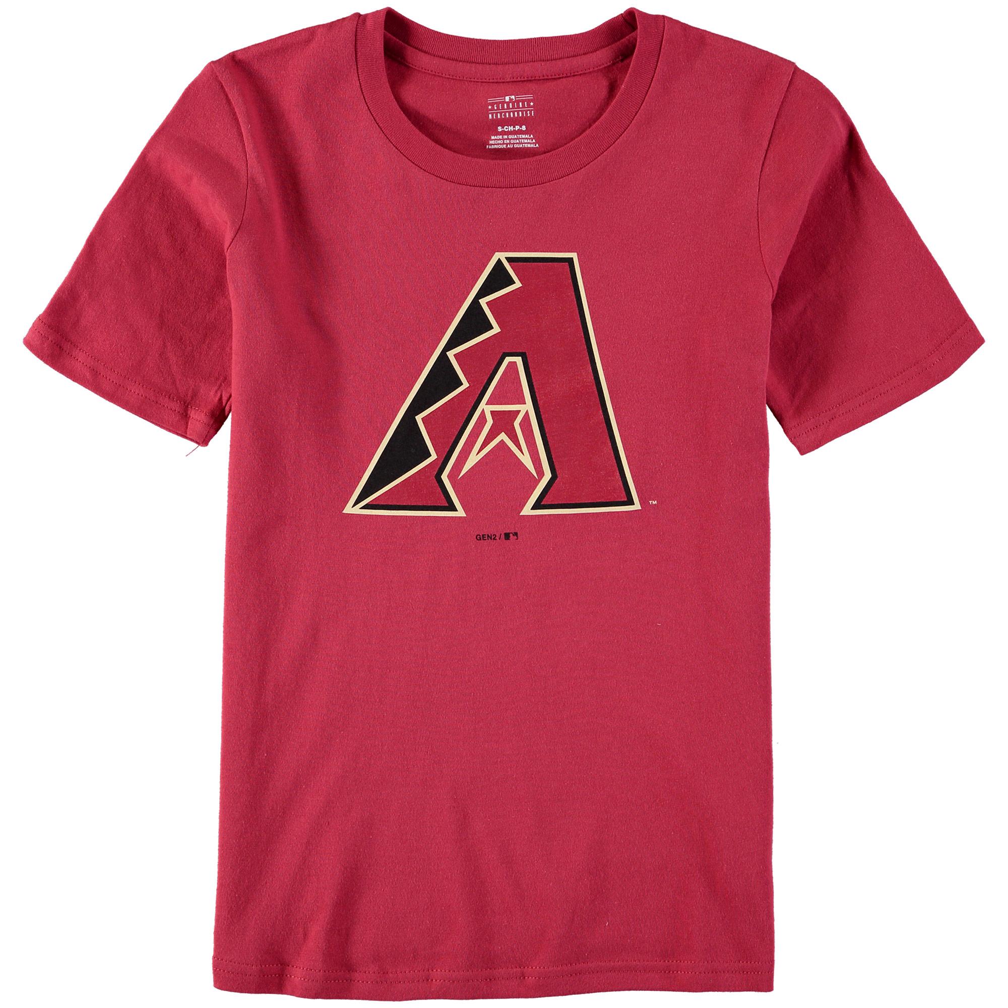 Arizona Diamondbacks Youth Primary Logo T-Shirt - Red