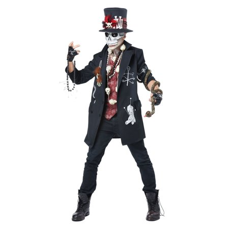 Voodoo Dude Adult Costume - Voodoo Costume