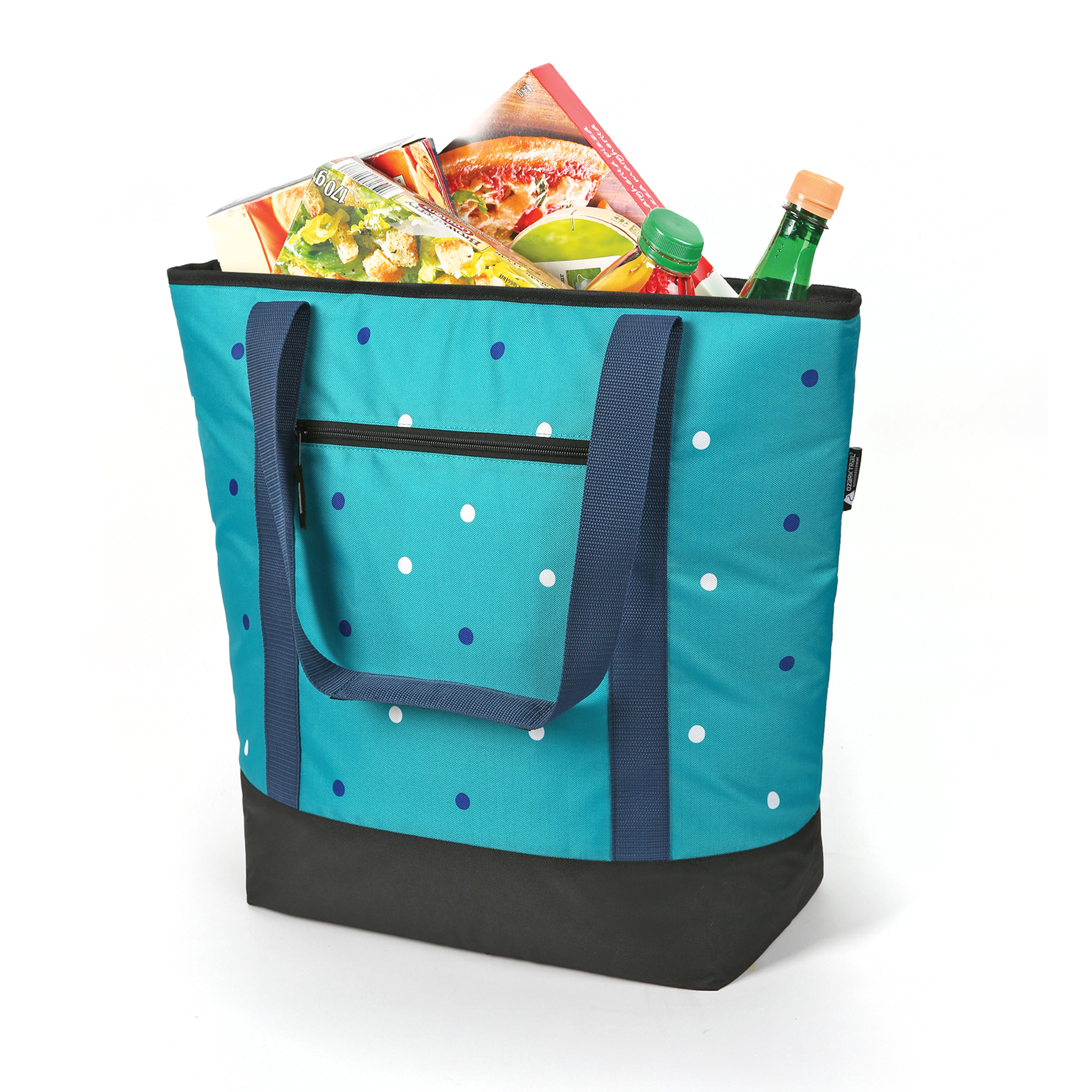 50 Can Thermal Tote Dots