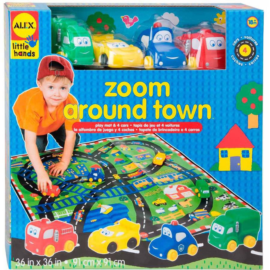 ALEX Toys Early Learning Zoom Around Town