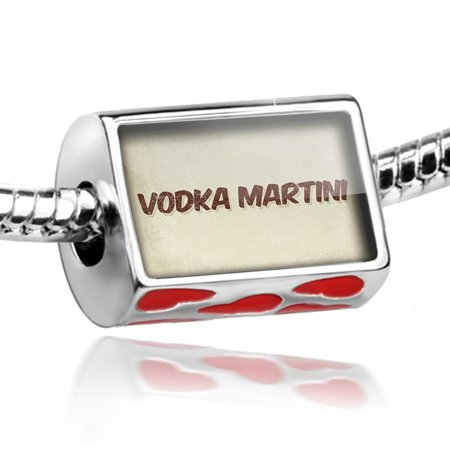 Bead Vodka Martini Cocktail, Vintage style Charm Fits All European Bracelets (Easy Halloween Cocktails With Vodka)