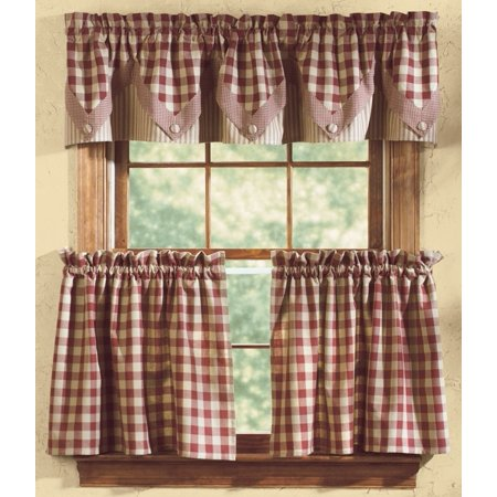 Country Curtains Bedding (Park Designs York Wine Country Curtain Tiers )