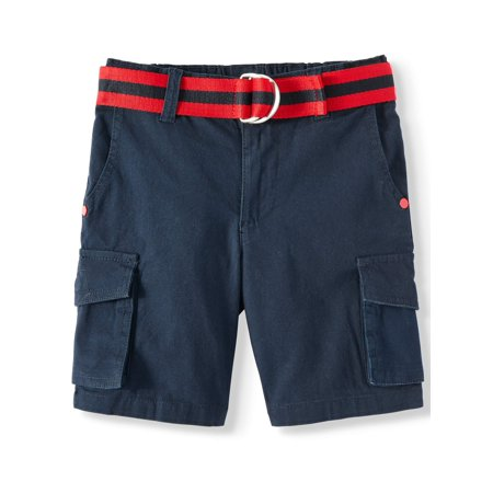Stretch Cargo Shorts with Belt (Little Boys & Big Boys) ()