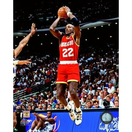 Clyde Drexler Game 1 of the 1995 NBA Finals Action Photo Print