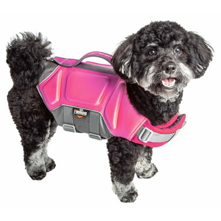 Guard Dog Gloves (Dog Helios ® 'Tidal Guard' Multi-Point Strategically-Stitched Reflective Pet Dog Life Jacket Vest)
