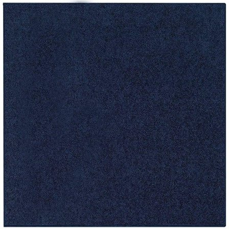 Bright House Solid Color Area Rugs Navy - 9' Square