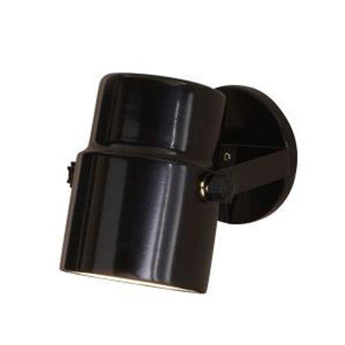 "Mainstays 7.5"" Spotlight Accent Lamp, Black Finish, LED Bulb Included"