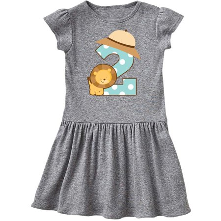 Jungle Dress For Kids (Safari 2nd Birthday Lion Jungle Toddler)