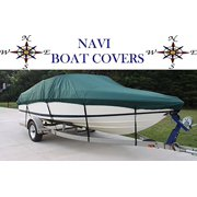 NAVI 11' - 13' GREEN MARINE CANVAS SKI - FISHING BOAT COVER