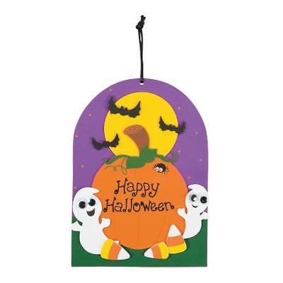 IN-13746818 Happy Halloween Ghost Sign Craft Kit