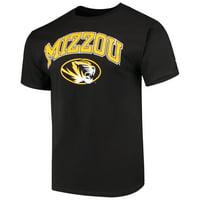 Men's Russell Athletic Black Missouri Tigers Core Print T-Shirt