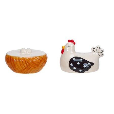 Hen House Funky Chicken Salt And Pepper Shaker Set Boston