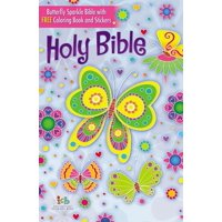 Butterfly Sparkle Bible-ICB (Hardcover)