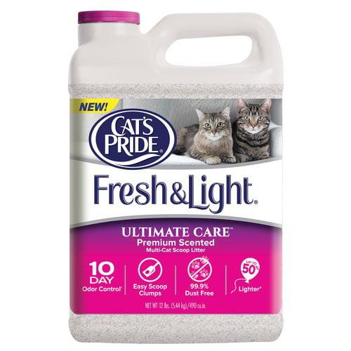 Oil Dri - Ultimate Care Multi Cat Litter, Scented, 12-Lbs.