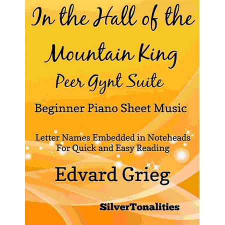 In the Hall of the Mountain King Beginner Piano Sheet Music -